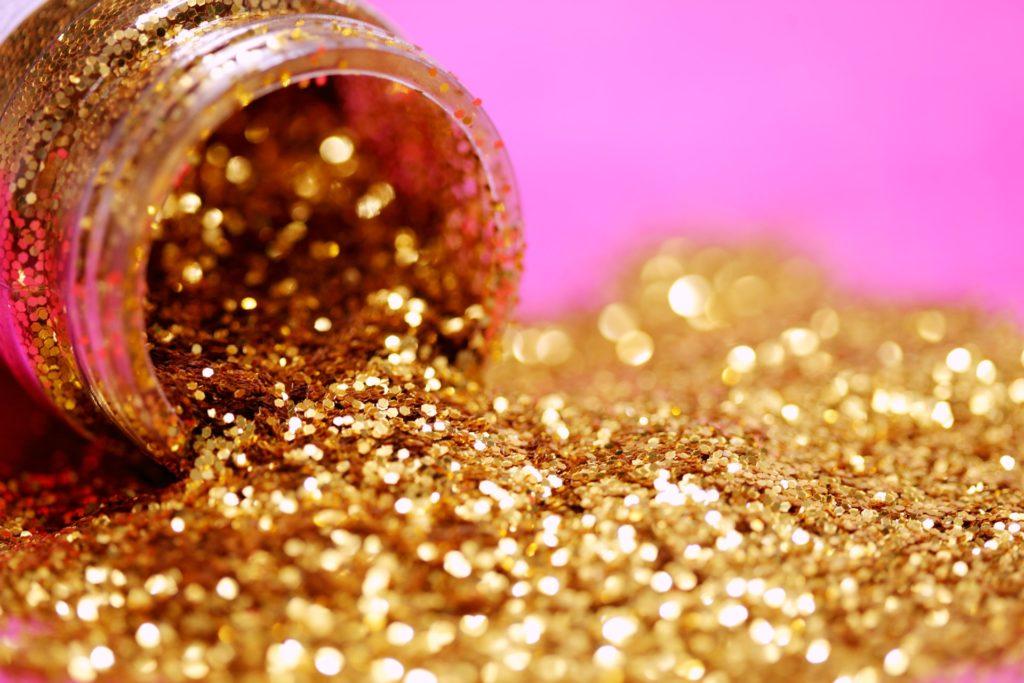 bokeh from glitter
