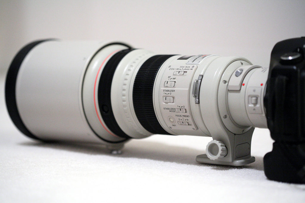 canon ef mm f . l is usm