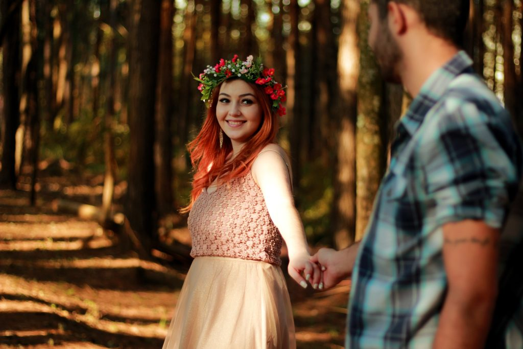 romantic couple photo shoot