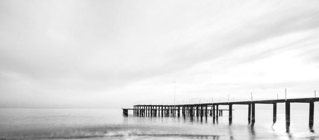 Pier on sky by Engin_Akyurt