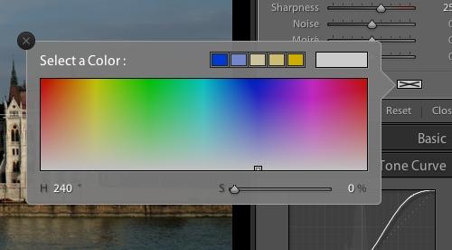 colour swatch