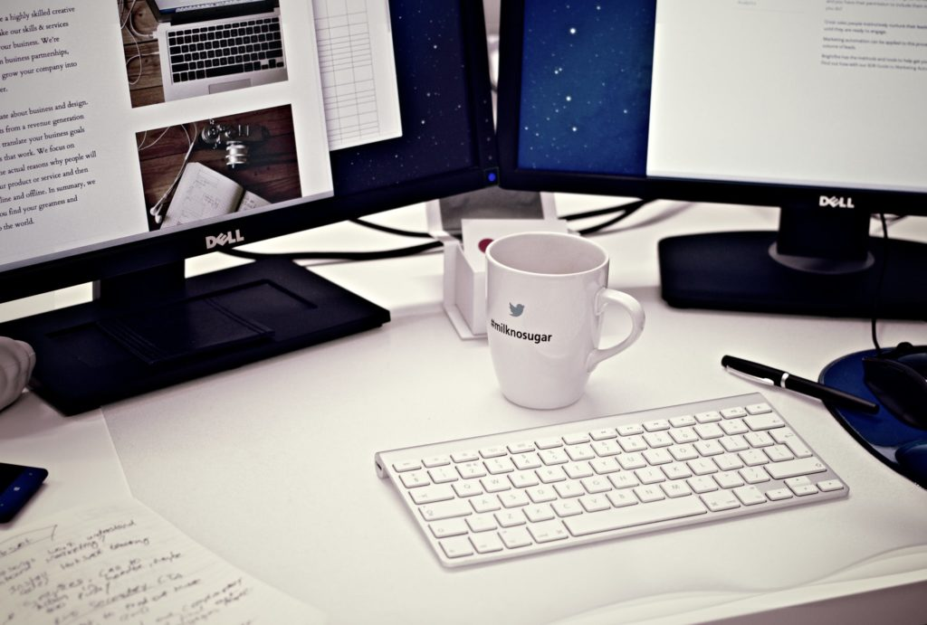 cup mug desk office