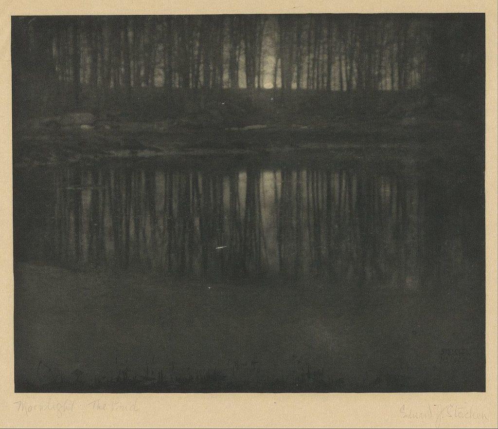 edward steichen american moonlight the pond google art project