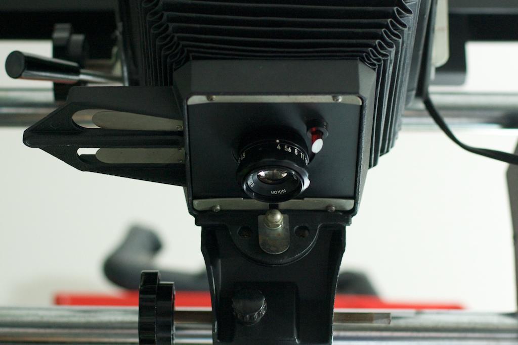 enlarger lens board