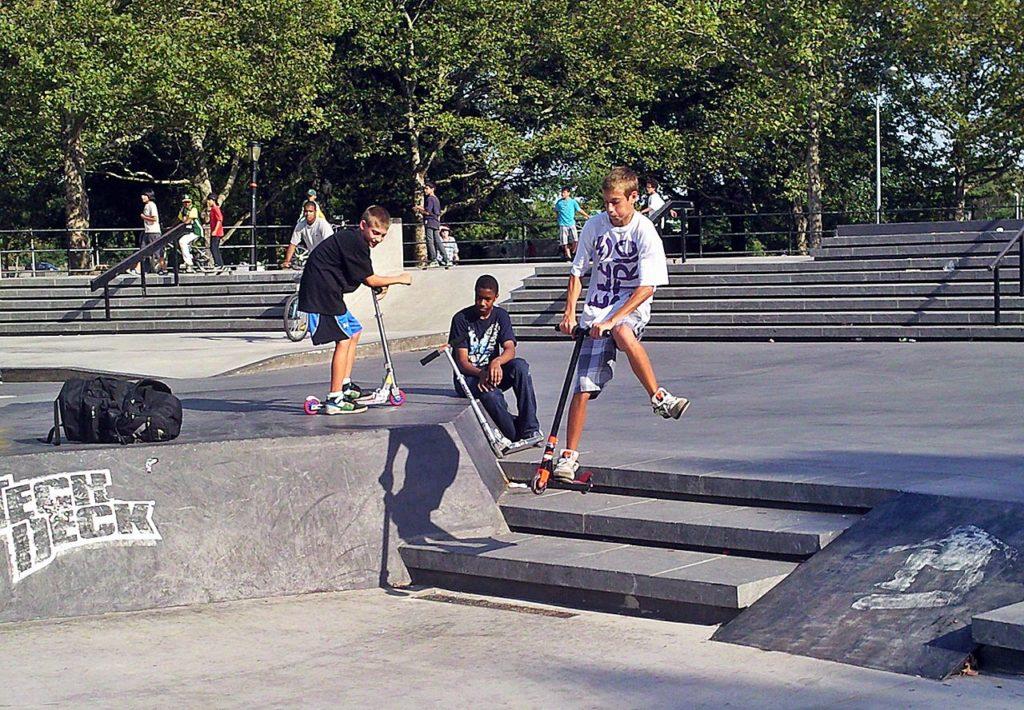 flushing meadows corona park skate park
