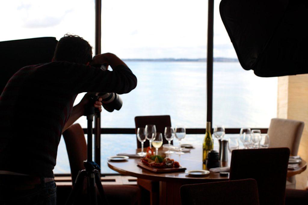 food restaurant camera taking photo