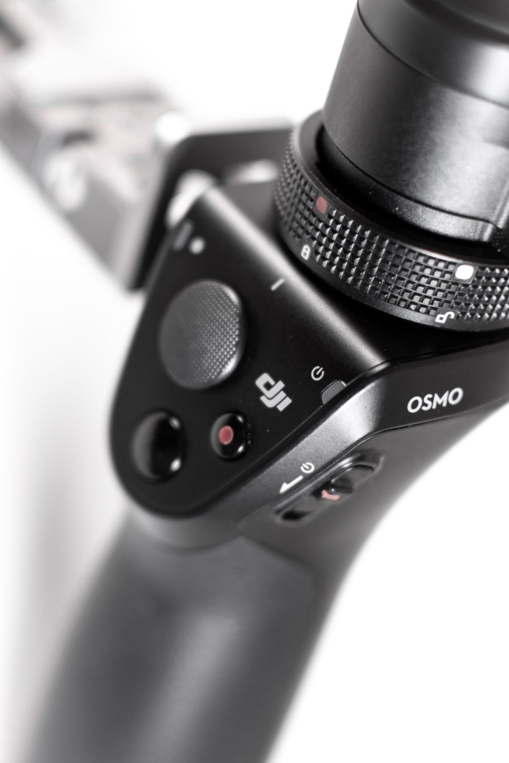 Close shot of DJI Osmo