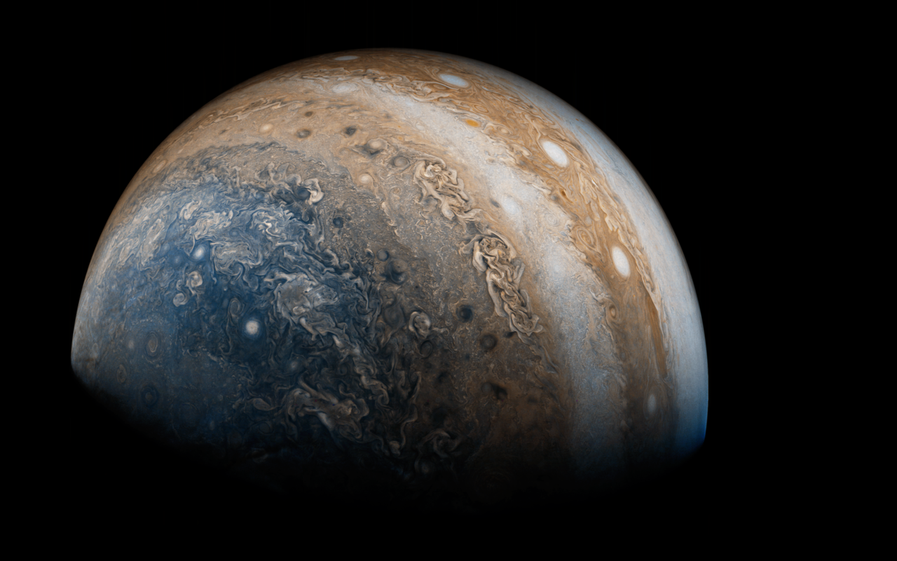 Juno Sends Back Awesome New Picture of Jupiter