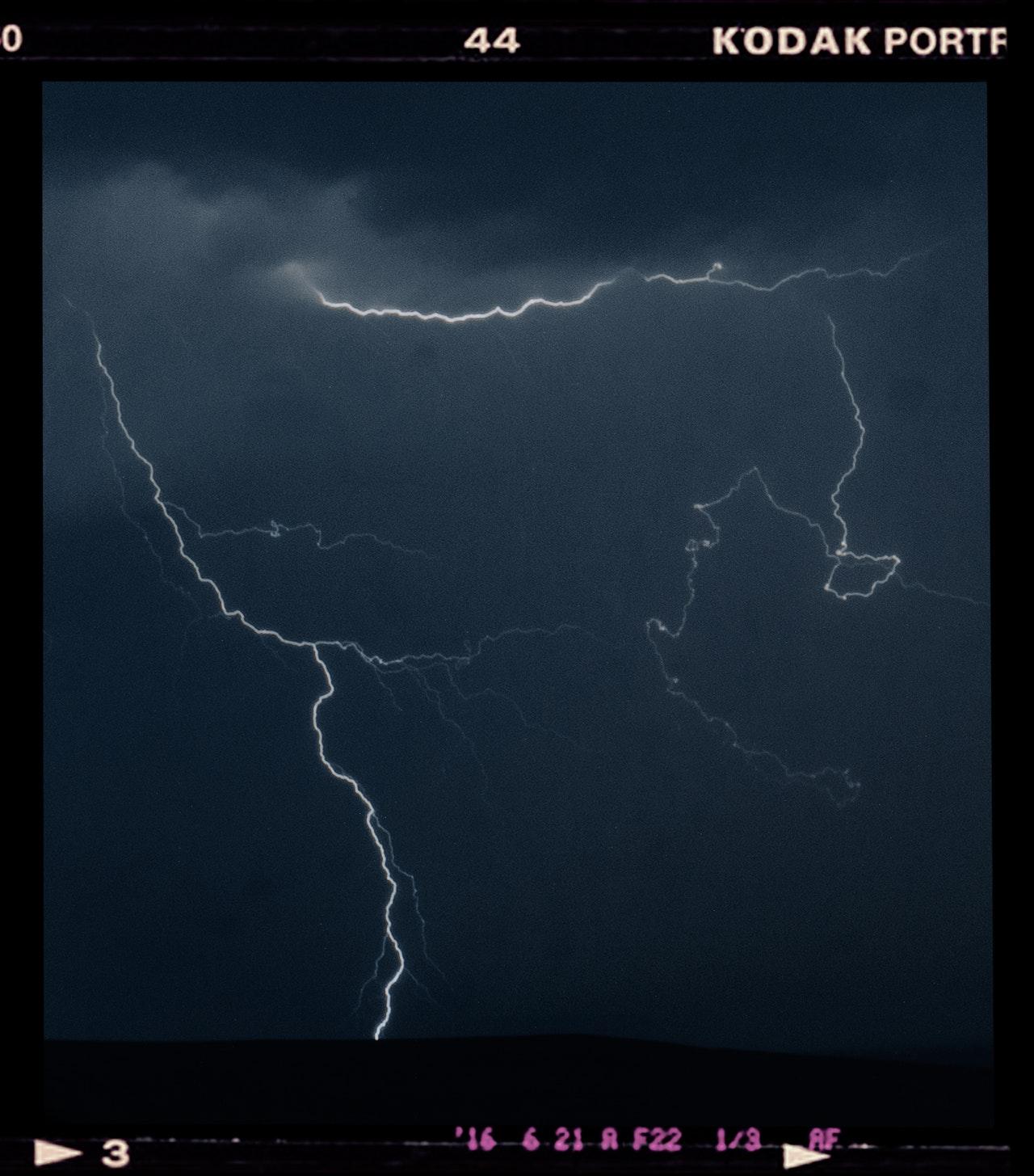 lightning during night screenshot