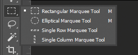 marquee tool
