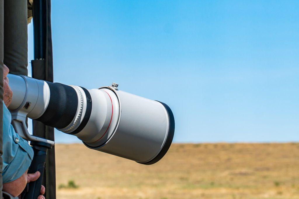 Telephoto lens shooting landscape.