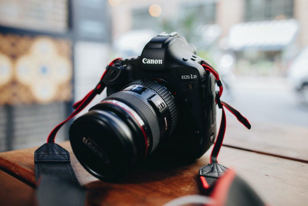 A Canon EOS 1D X