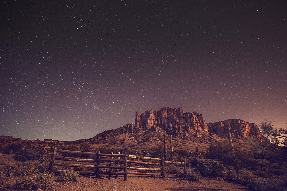 stars, night sky photography, landscape
