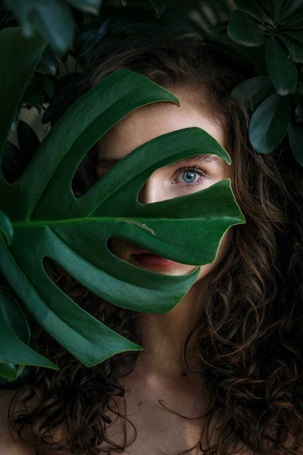 27 Powerful Portrait Photography Composition Examples Incorporating Trees and Leaves