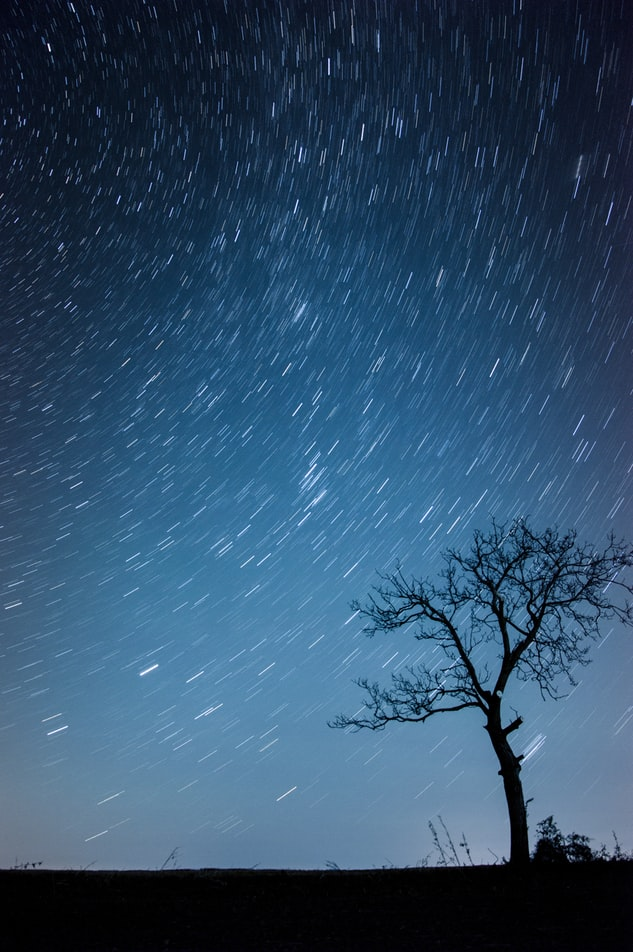 Star trails astrophotography