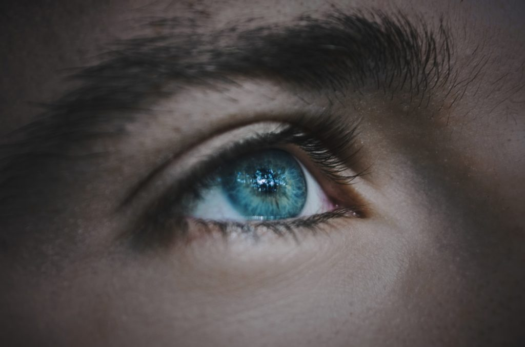 reflections in the eyes