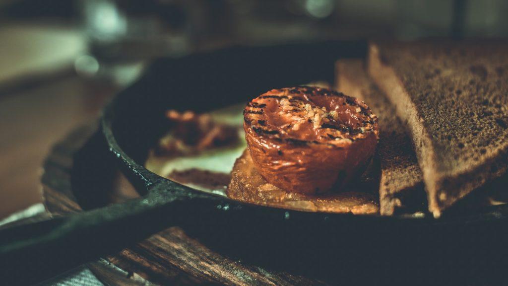 food photoshoot dark