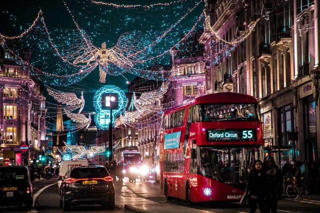 night photography london