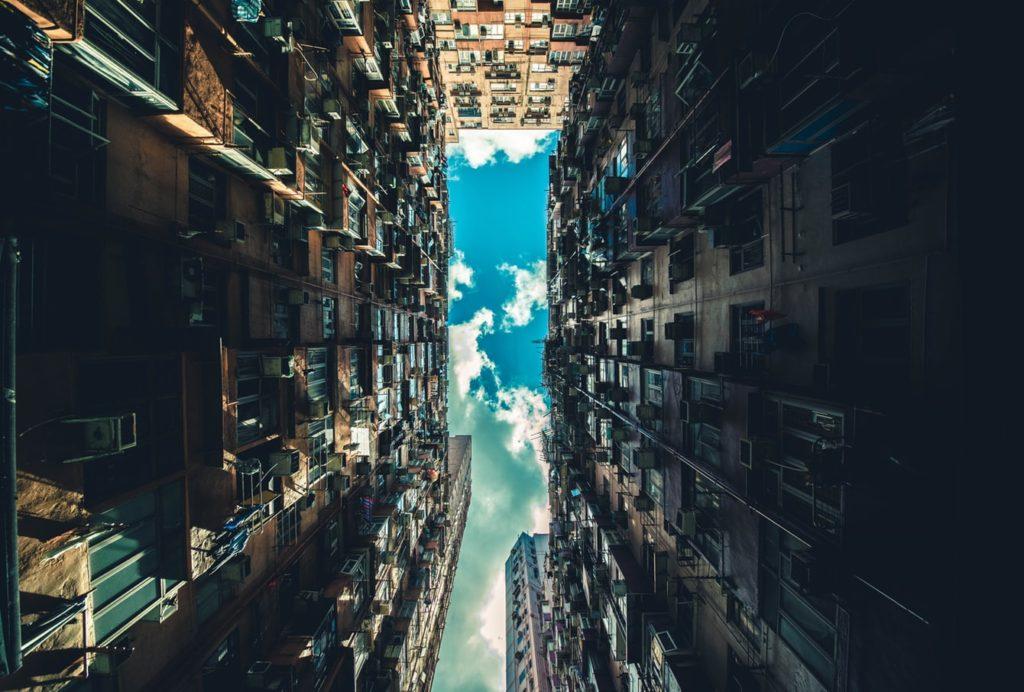 street scene hong kong