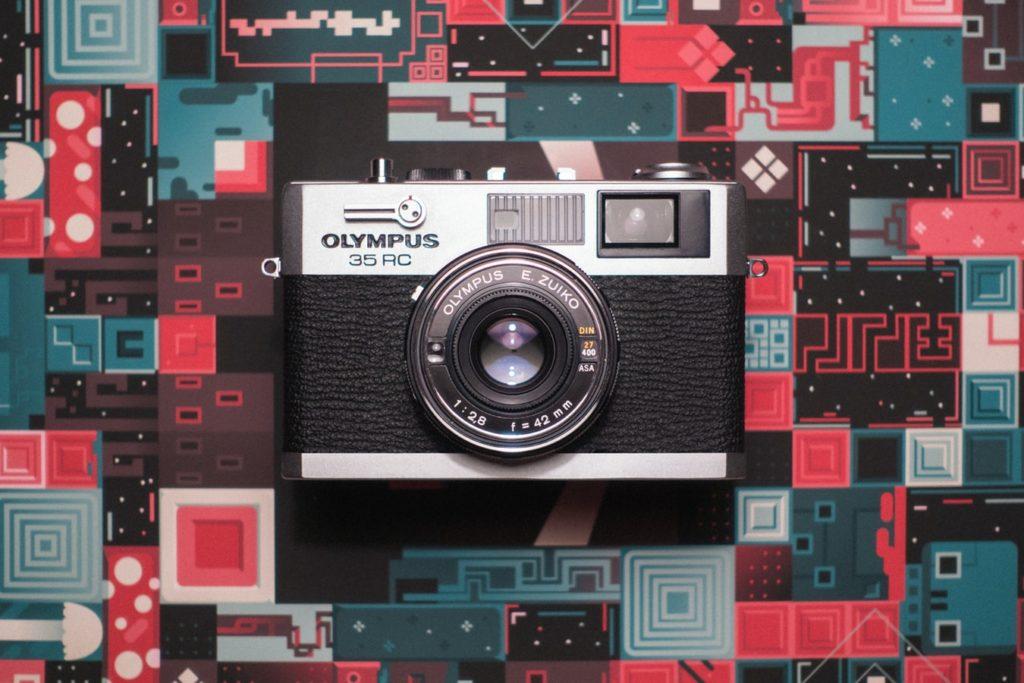 olympus vintage lens