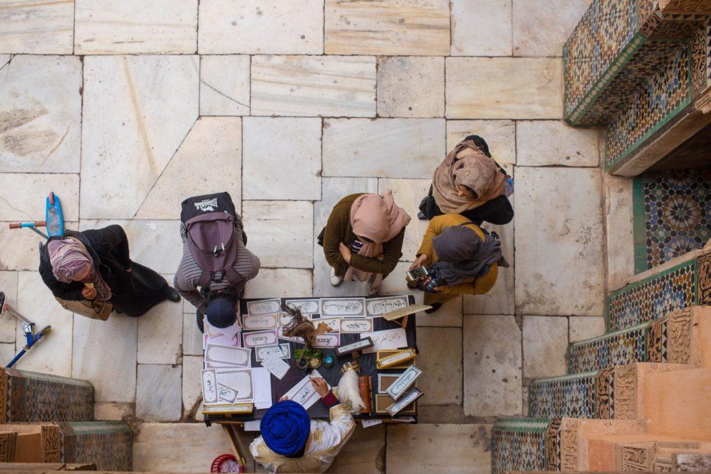 street scene marrakech