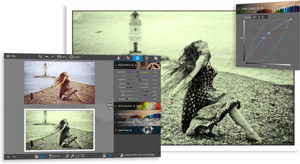 photo editor example compressor