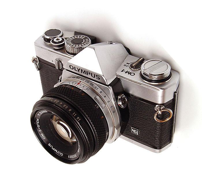 px olympus om film camera