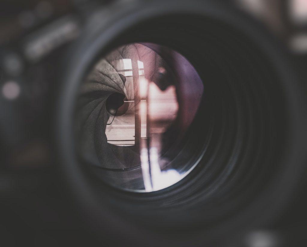 round aperture more aperture blades