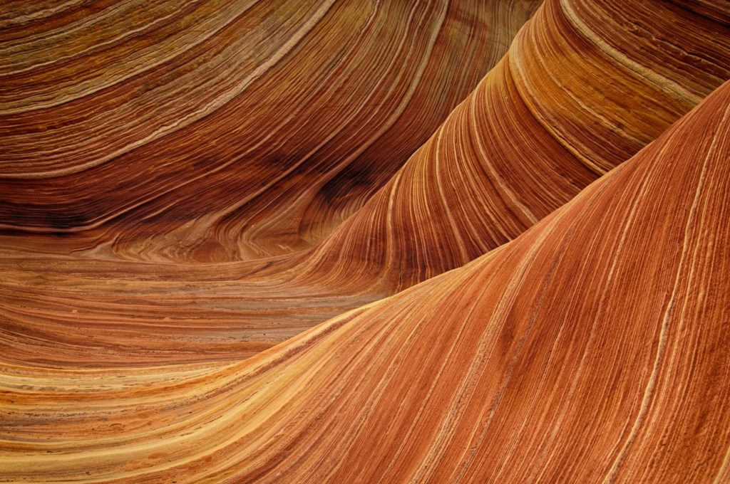 sandstone the wave rock nature