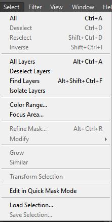 select panel