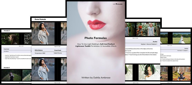 softradian formulas collage