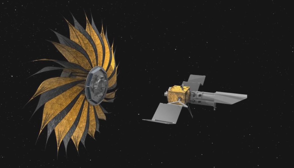 starshade artists concept pia
