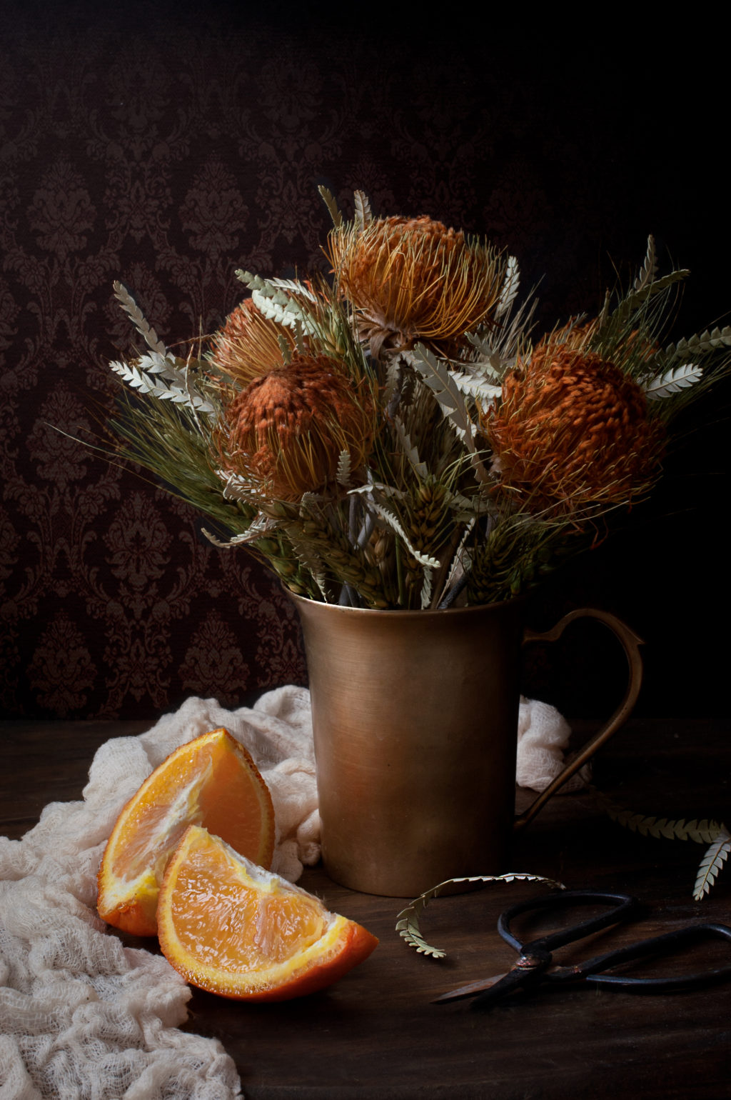 still flowers dried fruit photographs floral arrangement orange pexels brown vase photographer stunning beside light inspire nieves eneida pixabay floranext