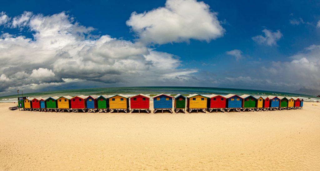 Muizenberg beach, Muizenberg, South Africa