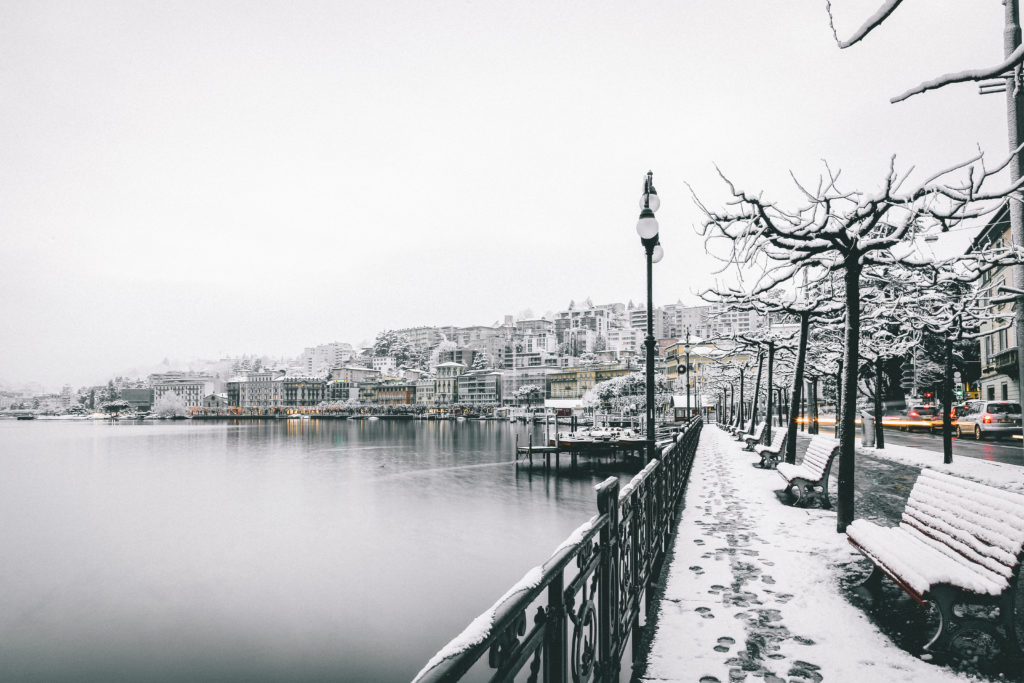 Photographic Juxtaposition: 16 Examples of Snow Against the Human-Made