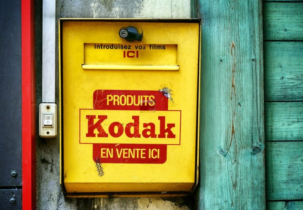 yellow and red produits kodak en vente ici case