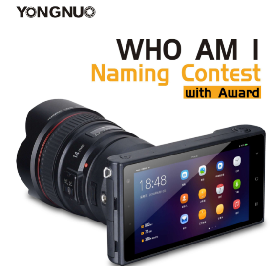 yongnuo's yn android mirrorless camera
